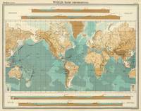 Vintage Map of The World (1922)