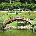 """Japanese Garden Bridge"" by Eileen"