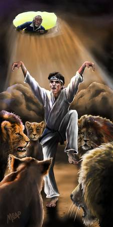 Daniel Son in the Lions Den