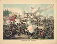 Civil War Assault on Fort Sanders Nov. 29 1863