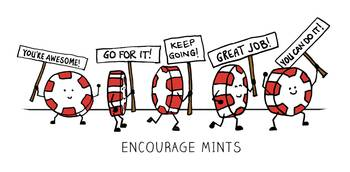 Encourage Mints Marching