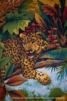Leopard In The Jungle