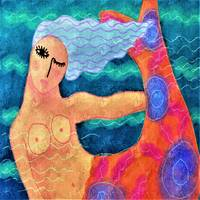 Funky Abstract Mermaid
