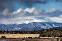 Snow Over Buffalo Peaks
