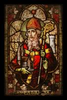 Saint Patrick Historic Stained Glass