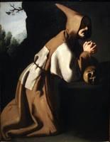 Saint Francis Hands Clasped in Prayer
