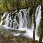 """""""Jiuzhaigou waterfall"""" by jonstraveladventures"""