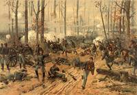 Civil War Battle of Shiloh by Thulstrup (1888)