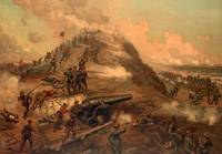 Civil War Capture of Fort Fisher by J.O. Davidson