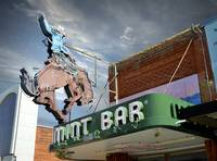 CowBoy MintBar Neon Sign