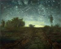 Starry Night by Jean-François Millet (ca. 1850–65)