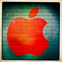 Apple On Wall