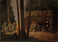 In Front of Yorktown by Winslow Homer (1862-63)