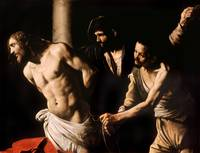 Christ at the Column by Caravaggio (1607)