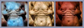 Ancient Midriff Triptych