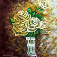 flowers Art Prints & Posters by ِِAbdelaziz Alsamahy