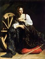 Saint Catherine of Alexandria by Caravaggio (c 159