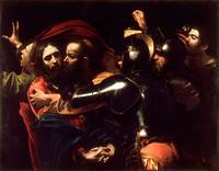 The Taking of Christ by Caravaggio (1602)