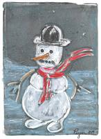 Reluctant Snowman