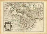 Ottoman and Persian Empires by Guillaume Delisle (