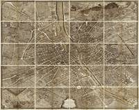 Turgot Map of Paris (1734-36)