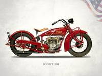 The 1929 Indian Scout 101