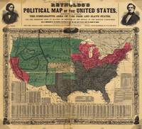 Reynold's Political Map of the United States (1850