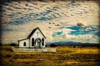 A Lone Prairie Church