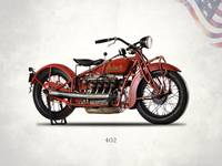 The 1931 Indian 402 Motorcycle