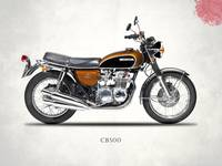 The Honda CB500 Classic Motorcycle