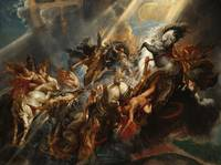 The Fall of Phaeton by Peter Paul Rubens (1605)