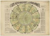 Meteorological and Astronomical Map by François-Xa