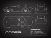 AC Cobra Blueprint Black