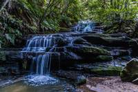 Leura Cascades in Blue Mountains National Park