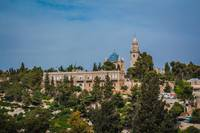 The Abbey of the Dormition building at mount zion