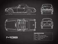 The MGB Blueprint Black