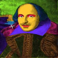 William Shakespeare Pop Art
