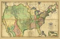 Map of the United States of America by John Melish