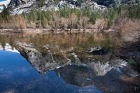 Yosemite Mirror Lake in March