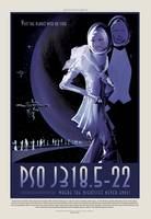 NASA PSO J318.5-22 Space Travel Poster