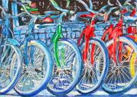 Bicycles - Green Bike