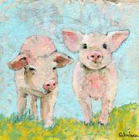 Piggie Friends | Pig art