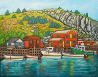 Colours of Quidi Vidi, Newfoundland
