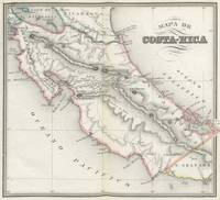 Vintage Map of Costa Rica (1851)