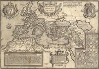 Vintage Map of The Roman Empire (17th Century)