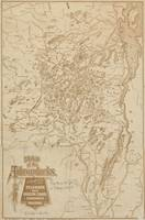 Vintage Map of The Adirondack Mountains (1880)