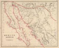 Vintage Map of Baja California (1857)