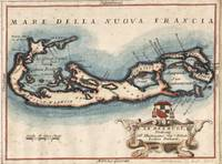 Vintage Map of Bermuda (1694)