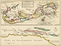 Vintage Map of Bermuda (1736)