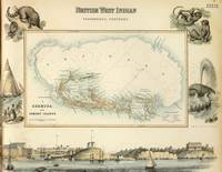 Vintage Map of Bermuda (1872)